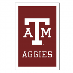 Texas A&M University House Flag