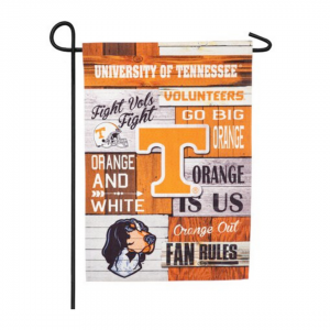 University of Tennessee garden flag