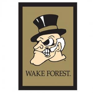 Wake Forest University House Flag