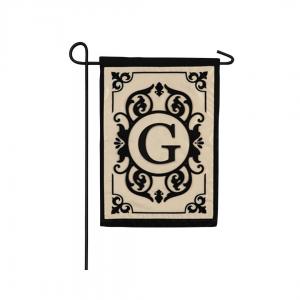 """""""G"""" Monogram Garden Flag"""