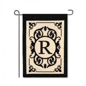 """R"" Monogram Flag"