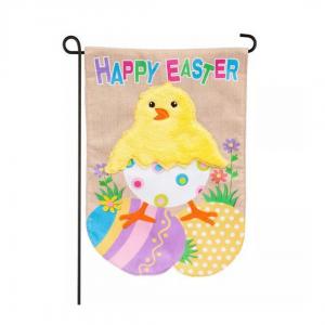 Easter Chick Garden Flag
