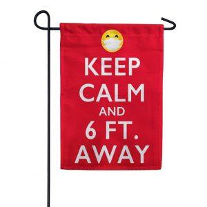 Keep Calm Garden Flag