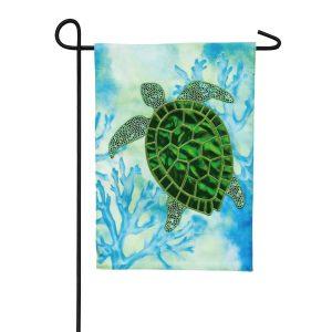 Sea Turtle Garden Flag