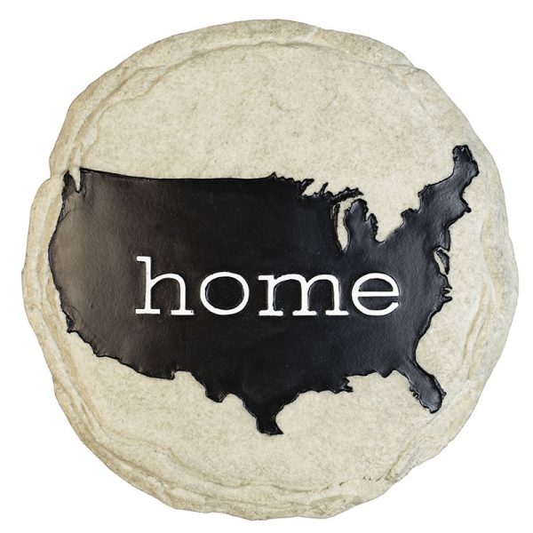 USA is Home Stone