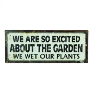 Excited About The Garden