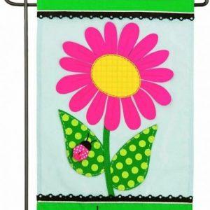 Welcome Daisy House Flag