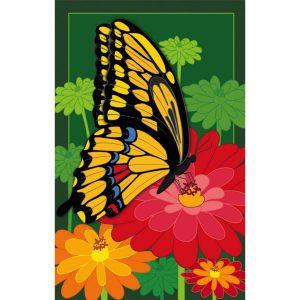 Blossoms & Butterfly Garden Flag