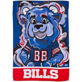 Buffalo Bills Bear Garden Flag