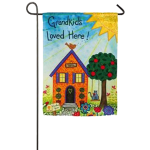 Grandkids Loved Garden Flag