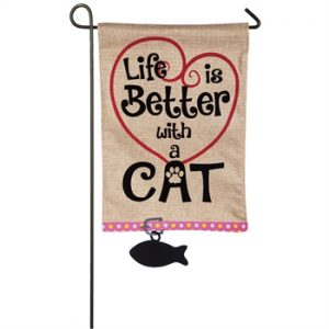 Life is Better with a Cat Flag