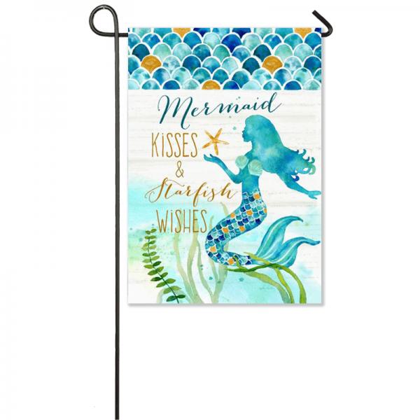 Mermaid Kisses Flag