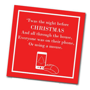 Night Before Christmas Napkin