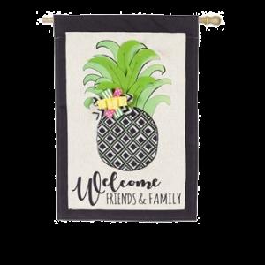 Pineapple Welcome Flag