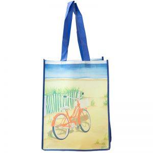 Bike on the Beach Tote Bag