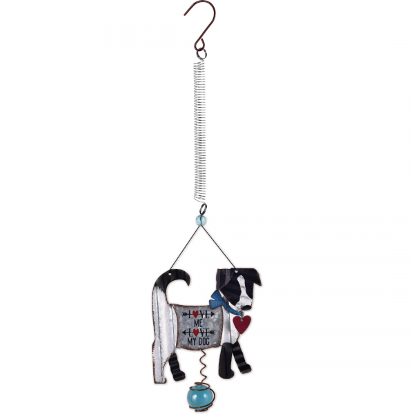 love me love my dog hanging bouncy