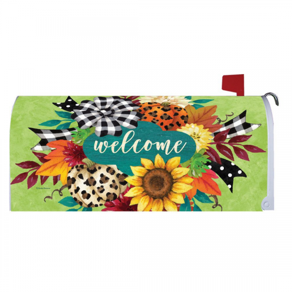 Fall Swag Mailbox Cover