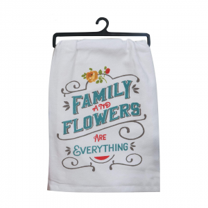 Family and Flowers Towels