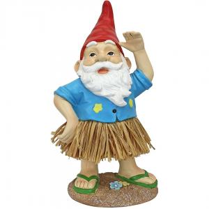 Hawaiian Hank Hula Gnome