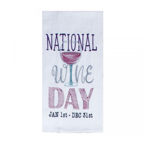 National Wine Day Dish Towel