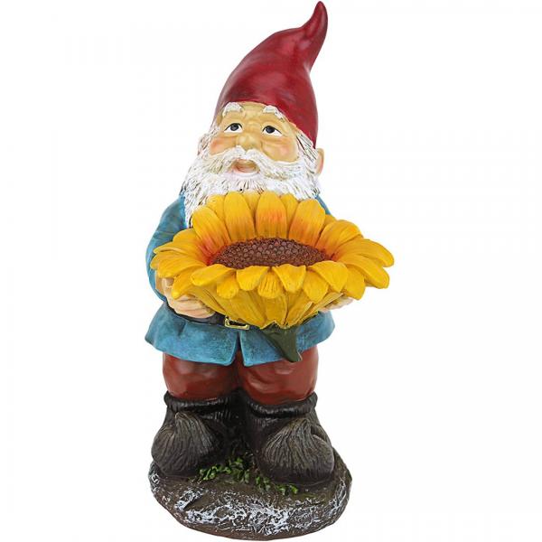 Sunflower Sammy Gnome