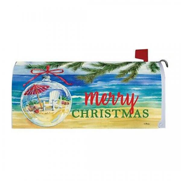 Coastal Ornament Mailbox Cover